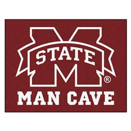 Mississippi State University  Man Cave All-Star Mat, Rug Carpet