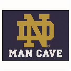 Notre Dame  Man Cave All-Star Mat, Rug Carpet