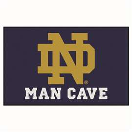 Notre Dame  Man Cave UltiMat Mat, Rug Carpet