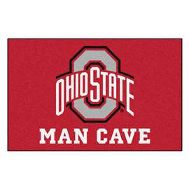 Ohio State University  Man Cave Starter Mat, Rug Carpet