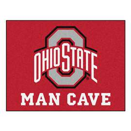 Ohio State University  Man Cave All-Star Mat, Rug Carpet
