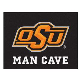 Oklahoma State University  Man Cave All-Star Mat, Rug Carpet