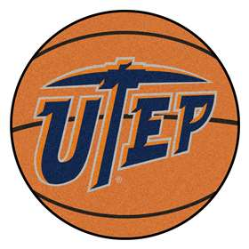 UTEP  Basketball Mat Rug Carpet Mats
