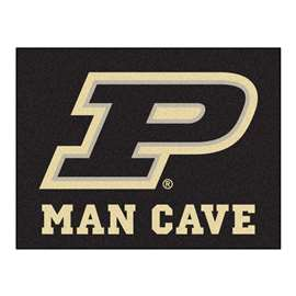 Purdue University  Man Cave All-Star Mat, Rug Carpet