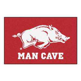 University of Arkansas  Man Cave Starter Mat, Rug Carpet