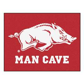 University of Arkansas  Man Cave All-Star Mat, Rug Carpet