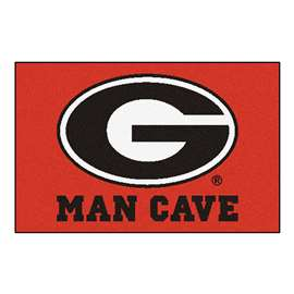 University of Georgia  Man Cave Starter Mat, Rug Carpet