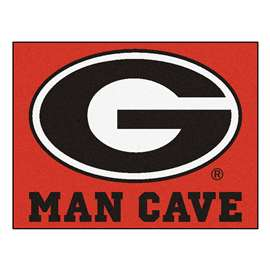 University of Georgia  Man Cave All-Star Mat, Rug Carpet