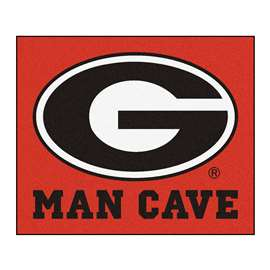 University of Georgia  Man Cave Tailgater Mat, Rug Carpet