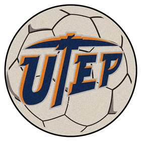 UTEP  Soccer Ball Mat, Rug , Carpet
