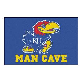 University of Kansas  Man Cave Starter Mat, Rug Carpet