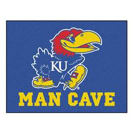 University of Kansas  Man Cave All-Star Mat, Rug Carpet
