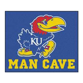University of Kansas  Man Cave Tailgater Mat, Rug Carpet