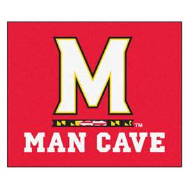 University of Maryland  Man Cave Tailgater Mat, Rug Carpet