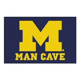 University of Michigan  Man Cave Starter Mat, Rug Carpet