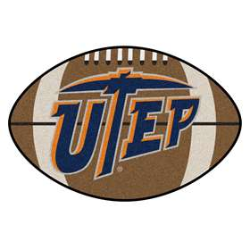 UTEP  Football Mat Mat Rug Carpet
