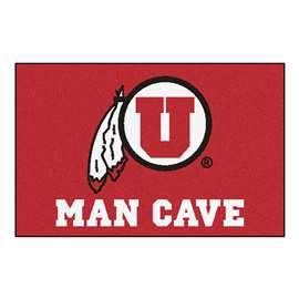 University of Utah  Man Cave Starter Mat, Rug Carpet