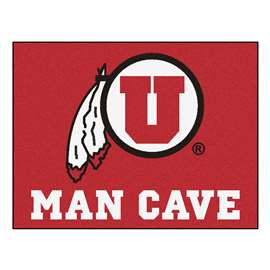 University of Utah  Man Cave All-Star Mat, Rug Carpet