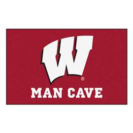 University of Wisconsin  Man Cave UltiMat Mat, Rug Carpet