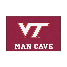 Virginia Tech  Man Cave Starter Mat, Rug Carpet