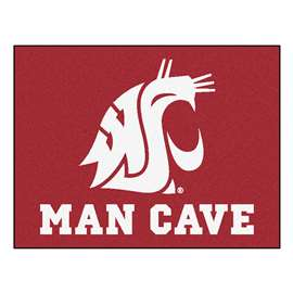 Washington State University  Man Cave All-Star Mat, Rug Carpet