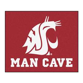 Washington State University  Man Cave Tailgater Mat, Rug Carpet