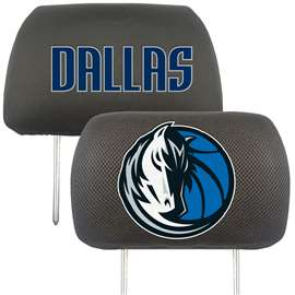 NBA - Dallas Mavericks  Head Rest Cover Car, Truck