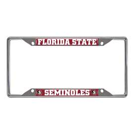 Florida State University  License Plate Frame Car, Truck