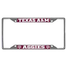 Texas A&M University  License Plate Frame Car, Truck