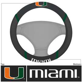 University of Miami  Steering Wheel Cover Car, Truck