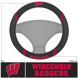 University of Wisconsin  Steering Wheel Cover Car, Truck