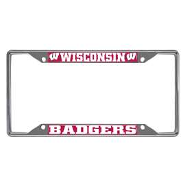 University of Wisconsin  License Plate Frame Car, Truck