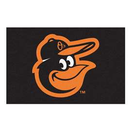 "MLB - Baltimore Orioles Cartoon Bird Starter Rug 19""x30""  Starter Mat"