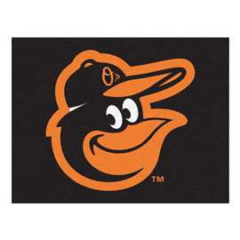 "MLB - Baltimore Orioles Cartoon Bird All-Star Mat 33.75""x42.5""  All Star Mat"