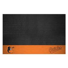 "MLB - Baltimore Orioles Cartoon Bird Grill Mat 26""x42""  Grill Mat"
