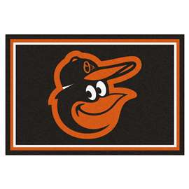 MLB - Baltimore Orioles Cartoon Bird 5'x8' Rug  5x8 Rug
