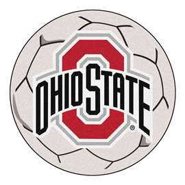 Ohio State University  Soccer Ball Mat, Rug , Carpet