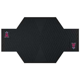 "MLB - Los Angeles Angels Motorcycle Mat 82.5""x42""  Motorcycle Mat"