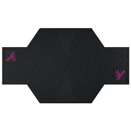 "MLB - Atlanta Braves Motorcycle Mat 82.5""x42""  Motorcycle Mat"