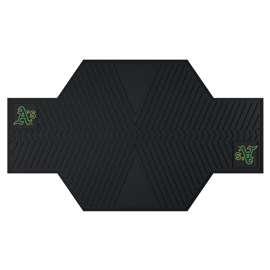 "MLB - Oakland Athletics Motorcycle Mat 82.5""x42""  Motorcycle Mat"