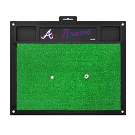 "MLB - Atlanta Braves Golf Hitting Mat 20"" x 17""  Golf Hitting Mat"