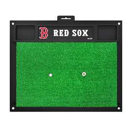 "MLB - Boston Red Sox Golf Hitting Mat 20"" x 17""  Golf Hitting Mat"