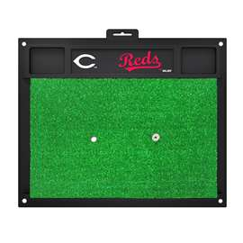 "MLB - Cincinnati Reds Golf Hitting Mat 20"" x 17""  Golf Hitting Mat"