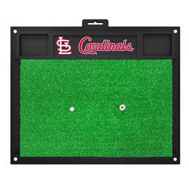 "MLB - St. Louis Cardinals Golf Hitting Mat 20"" x 17""  Golf Hitting Mat"