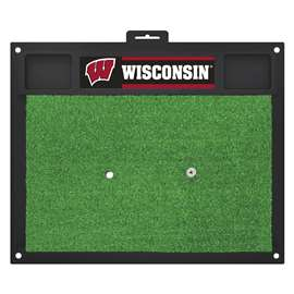 University of Wisconsin  Golf Hitting Mat