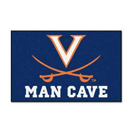 University of Virginia  Man Cave Starter Mat, Rug Carpet