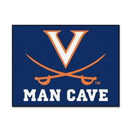 University of Virginia  Man Cave All-Star Mat, Rug Carpet