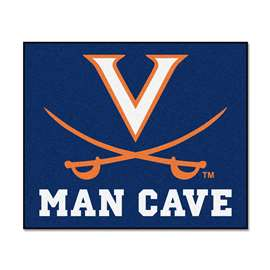 University of Virginia  Man Cave Tailgater Mat, Rug Carpet