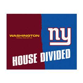 NFL House Divided - Redskins / GiantsFloor Rug Mats
