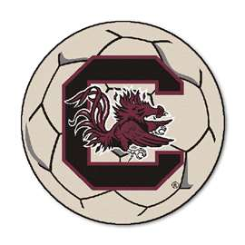 University of South Carolina  Soccer Ball Mat, Rug , Carpet